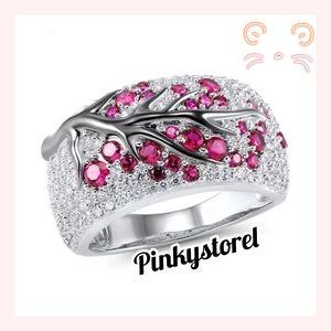 💓Shy Pink Tree Ring💓